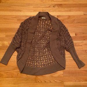 Women's Nordstrom Abound Crochet Cardigan Sweater